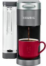 Keurig K Supreme Coffee Maker Single Serve K-Cup Pod Multistream Tech NEW Gray