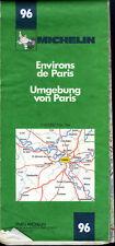 Carte Michelin 96 - Environs de Paris