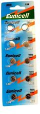 EUNICELL Lot de 10 piles AG6 371A LR920 LR921 SR69  GP71