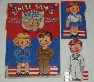 UNCLE SAM'S LITTLE HELPERS/S#2450/UNCUT