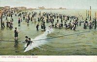 BROOKLYN NY – Coney Island Bathing Scene – udb (pre 1908)