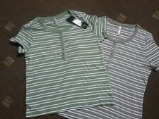 2 striped t-shirts size M BNWT