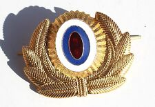 OBSOLETE RUSSIAN SOVIET POLICE OFFICERS CAP BADGE