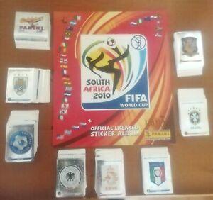 Colección completa Mundial Sudáfrica 2010. Cromos sin pegar + album. Nuevo