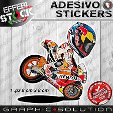Adesivi Sticker Mascotte cartoon PEDROSA DANI 26 MOTOGP HONDA RCV TOP QUALITY!