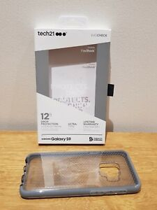 Tech21 Evo Check Case Cover for Samsung Galaxy S9 Mid Grey T21-5822