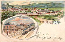 Ansichtskarten aus Hessen mit dem Thema Eisenbahn & Bahnhof