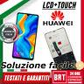 DISPLAY LCD+TOUCH SCREEN Huawei P30 LITE MAR-LX1A LX1B LX1M LX2J SCHERMO VETRO!!