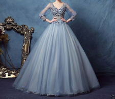 2017 Sexy Party Prom Gown Princess Quinceanera Dresses Ball Gown Wedding Dress