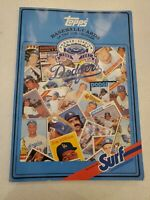 Topps Baseball Cards of the Los Angeles Dodger Surf Laundry Detergent Book