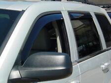 In-Channel Wind Deflectors: 1999-2004 Jeep Grand Cherokee