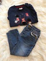 Zara Mothercare Baby Boy Bundle jeans 18-24 soldier top 2-3 London theme