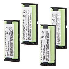 4x Home Phone Battery for Panasonic HHRP105 HHR-P105 HHRP105A HHR-P105A