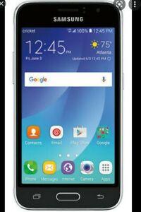 "BRAND NEW Cricket Samsung Galaxy Amp 2 8gb 4.5"" Smartphone"