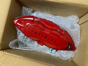 NEW Genuine OEM Infiniti RED SPORT AKEBONO Brake Calipers G37 Q50 Q60 M56 FX50
