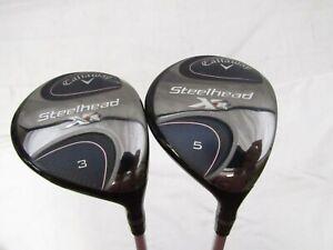 Used RH Callaway Steelhead XR 3.5 Fwy Wood Set - Tensei 55 Regular R Flex +HC