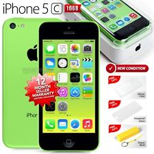 New in Sealed Box APPLE iPhone 5C Green 16GB 4G LTE Version Smartphone 1 Yr Wrty