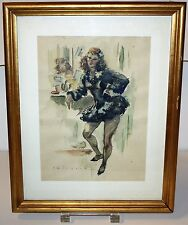 DANSEUSE. PERE CLAPERA ARGELAGUER (1906-1984). AQUARELLE. MILIEU DU SIÈCLE XX