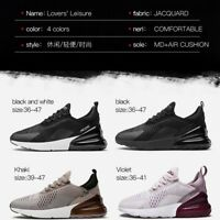 Womens & Mens sport Shoes Breathable Comfy Gym Running Trainers Sneaker AIR270