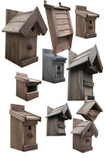 Nistkasten, Boxen für Vögel, große Auswahl, Vogelhaus aus Holz-/P/-Rosenholz