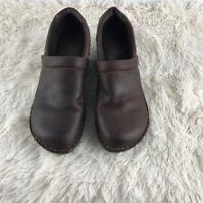 B.O.C Born Concept Brown Clogs Slip-on Women's Nurses Shoes Size 12 M/W (44)