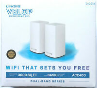 Linksys Velop Dual Band AC2400 Intelligent Mesh WiFi Router Replacement