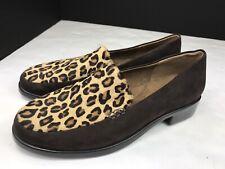 Aerosoles Wish List Cheetah Combo Cow Hair Flats. Size 6.5 M
