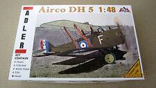 Airco De Havilland Mk.5 British fighter WWI (PE & meta parts)  1/48 AMG # A48302