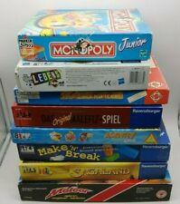16x Brettspiele Sammlung Konvolut Monopoly, Sagaland, Spiel des Lebens usw.