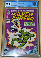 Silver Surfer #2 CGC 9.4 (1st App Brotherhood of Badoon) (OFF-WHITE/WHITE PAGES)