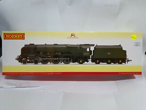 Hornby R3856 Late BR Princess Coronation 4-6-2 City of Salford 46257 OO gauge