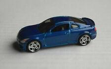 Hot Wheels Infiniti G37 blaumetallic Auto PKW Car Coupe Nissan blue blu bleu HW
