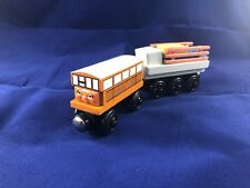 Thomas & Friends Wooden Railway Train Tank Engine - Catherine w/ Trailer & Cargo