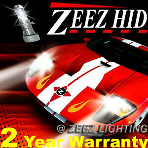 ZEEZ Slim HID Xenon Conversion Kit Fog Light Bulb 6000K 8K 10K H10 9140 9145 O2