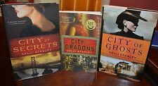 3 KELLY STANLEY BOOKS FOR SALE NEVER READ: CITY OF DRAGONS, GHOSTS & SECRETS