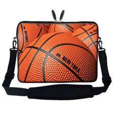 """15.6"""" Laptop Computer Sleeve Case Bag w Hidden Handle & Shoulder Strap 3150"""