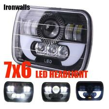 "DOT Approved 7x6""Inch LED Headlight Sealed Hi-Lo Beam For Nissan Pickup Hardbody"