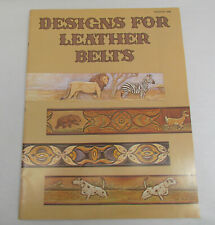 Designs for Leather Belts, Stock No. 1948