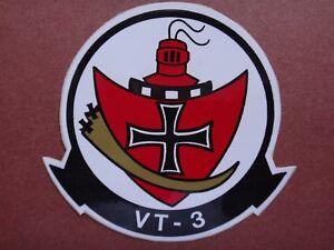 Nous Marine Entraînement Escadron VT-3 Rouge Knights Autocollant Jamais Utilisé