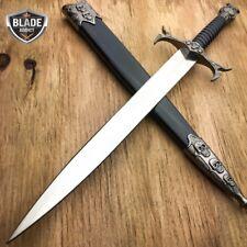 Demon Skull Bones Medieval Tribal Fantasy Dagger Historical Short Sword Knife