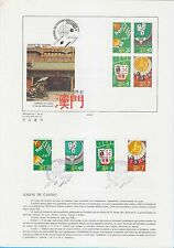 Macau China stamp PGS #029 1987 Casino Gambling MO137615