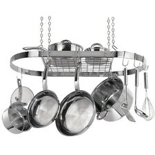 rack range pot cw6001r stainless kleen steel hanging oval