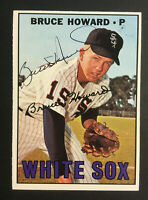 Bruce Howard White Sox signed 1967 Topps baseball card #159 Auto Autograph 2