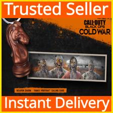 Call of Duty: Black Ops Guerra Fría/caballero arma encanto y familiar retrato Dlc