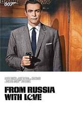 From Russia with Love (DVD, Sean Connery) 007 James Bond NEW