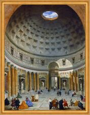 Interior of the Pantheon, Rome Giovanni Paolo Pannini Kuppel Italien B A1 02115