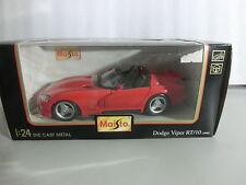 1:24 MAISTO 51015 DODGE viper rt/10 1995 rouge (sch1/2)