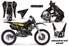 Suzuki RM 125 Graphic Kit AMR Racing MX # Plates Decal Sticker RM125 99-00 CHECK