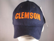 CLEMSON TIGERS - NEW FOOTBALL HAT - NCAA LICENCED NAVY MAC DADDY