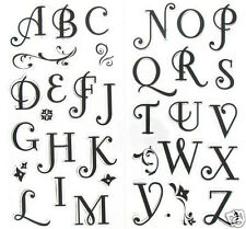 INKADINKADO Clear Stamps COFFEE HOUSE ALPHABET Pretty!